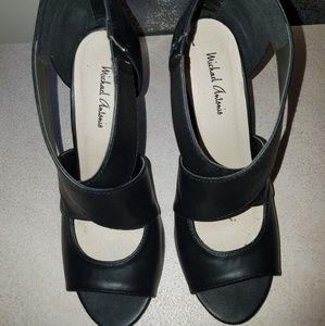 Michael Antonio Black Sandals